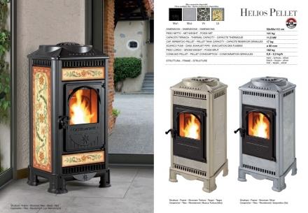 Pellet eurocasa climatizzazione for Stufe a pellet helios